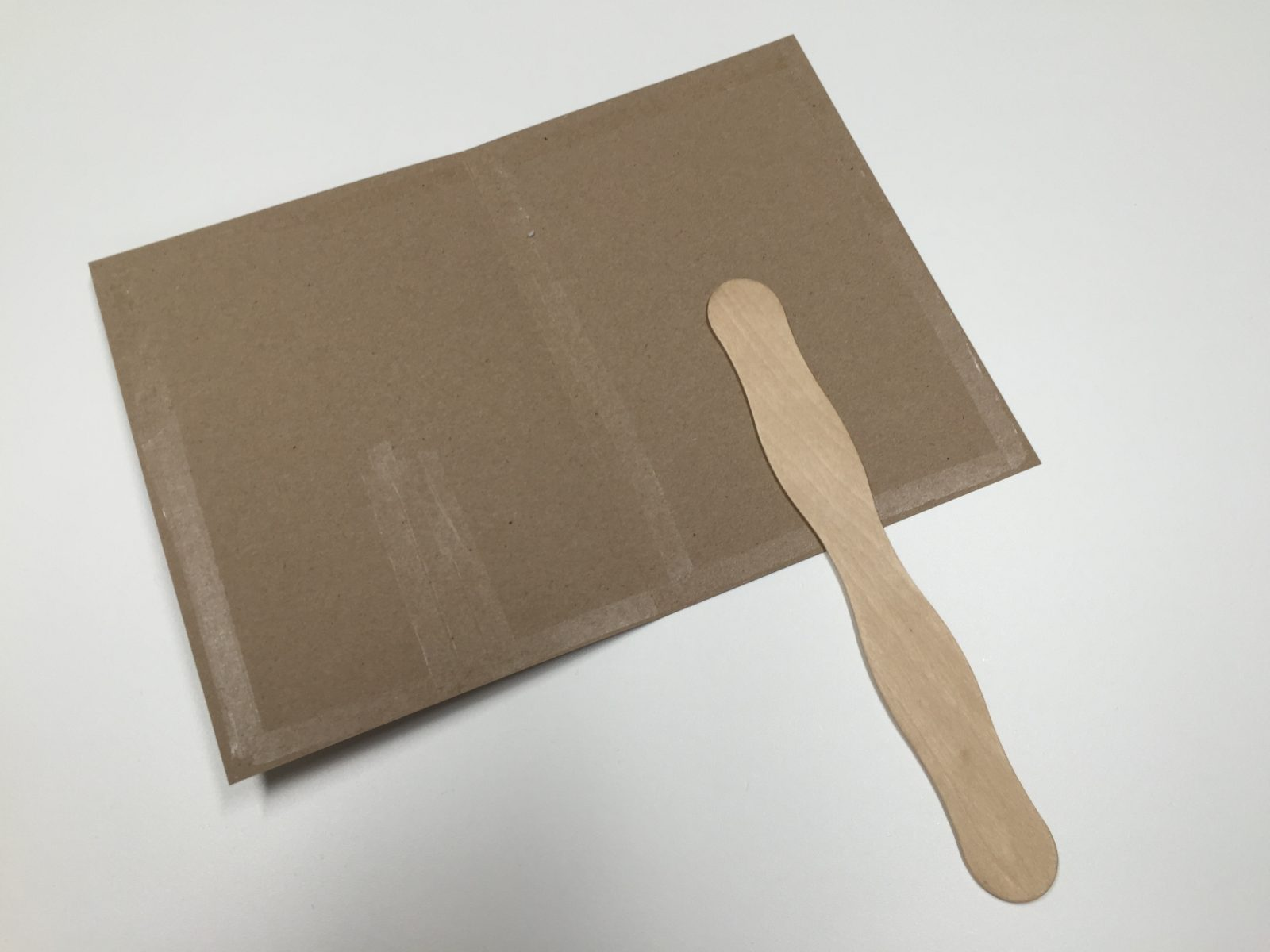 Glue paddle stick