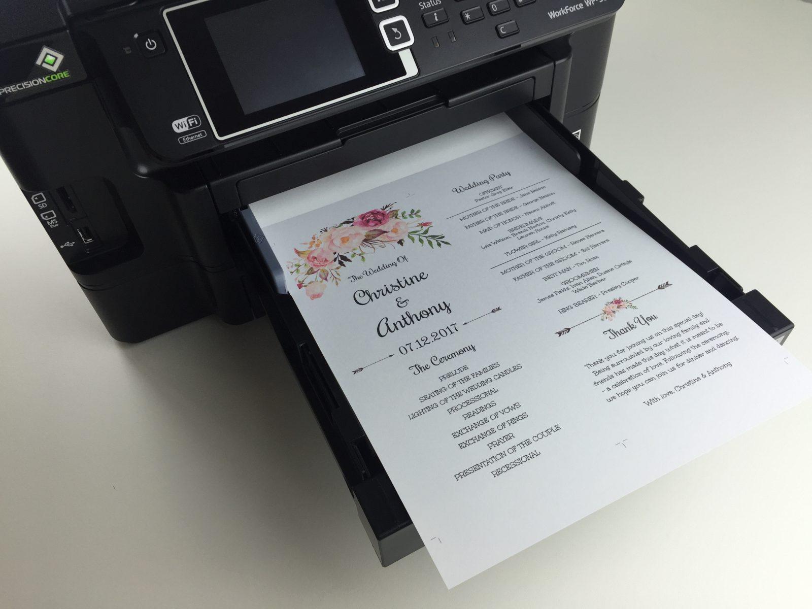 Insert back into printer 1